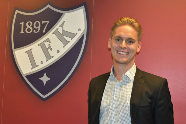 Kevin Lankinen edusti Helsingin IFK:ta vuosina 2014-2018. Seura järjesti tuoreille maailmanmestareille kahvitilaisuuden Helsingissä.