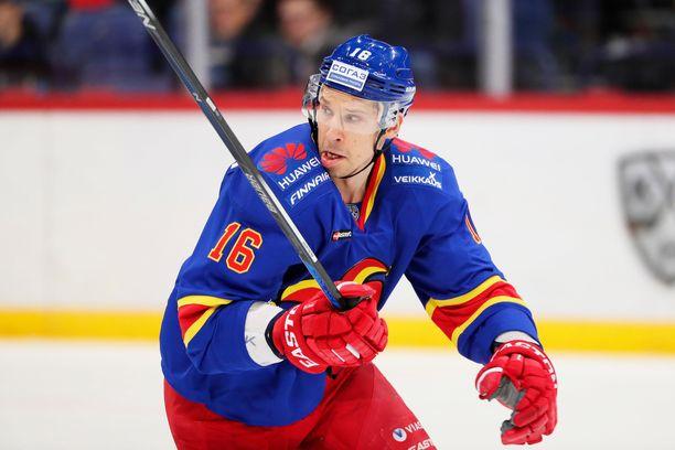 Masi Marjamäki on pelannut myös Helsingin Jokereissa.