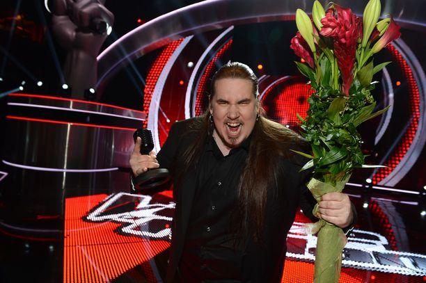 Antti Railio voitti vuonna 2013 The Voice of Finland -finaalin.