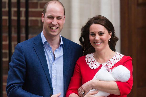 Prinssi William ja herttuatar Catherine saivat toisen poikansa huhtikuussa 2018.