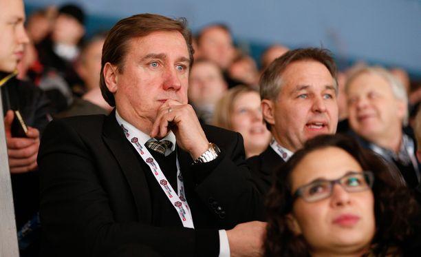 Juha Junno on toiminut Kärppien toimitusjohtajana 21 vuotta.