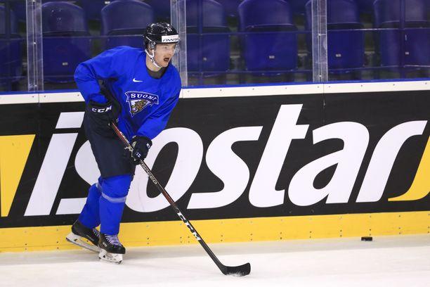 Sakari Manninen on päässyt MM-tasolla peliin sisälle ja saanut vahvuutensa joukkueen käyttöön huomattavasti paremmin kuin vuosi sitten.
