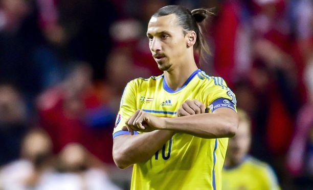 Zlatan Ibrahimovicilla on vatsalihasvaivoja.