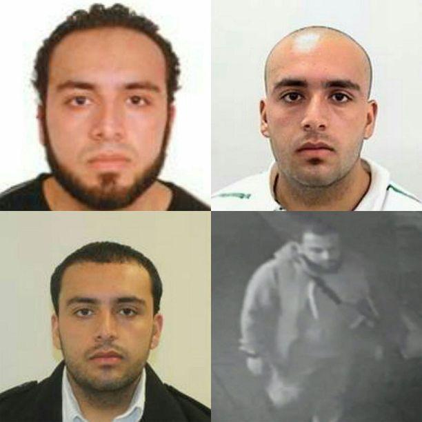 New Jerseyn poliisi jakoi nämä kuvat etsintäkuulutetusta Ahmad Khan Rahamista.