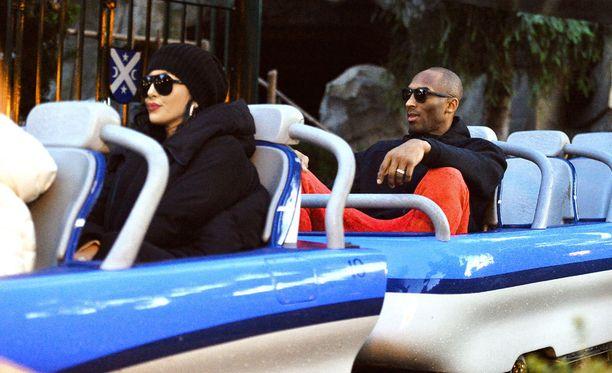 Kobe Bryantin Vanessa-vaimolla ei ollut toivoakaan mahtua miehensä viereen.