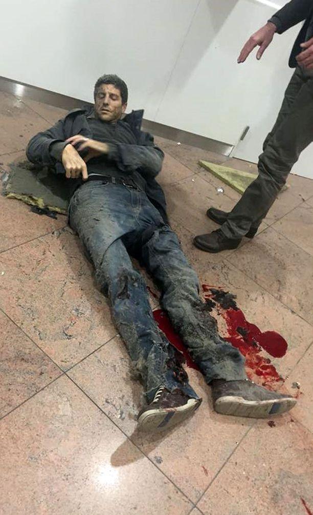 Sebastien Bellin koki kovia Brysselin terrori-iskussa.