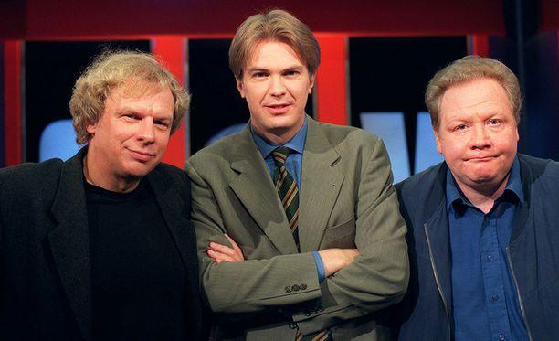 Tabermann, Nyman ja Tervo ovat Uutisvuodon legendaarisin ydinkolmikko.