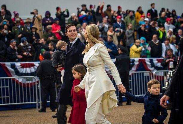 Arabella Trump on Ivanka Trumpin ja Jared Kushnerin esikoinen ja ainoa tytär.