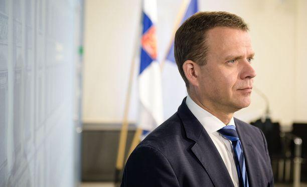 Petteri Orpo osallistui lauantaina Jyväskylässä pidettyyn kokoomuksen puoluevaltuuston kokoukseen.