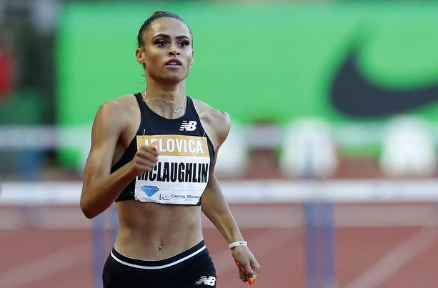 Sydney McLaughlin juoksi toisena naisena tällä kaudella alle 53 sekunnin.