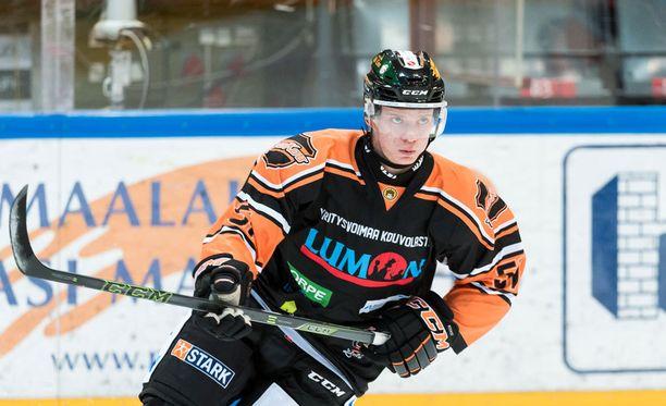 Mikko Virtanen loisti rankkarikisassa.