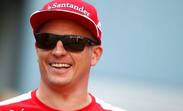 Kimi Räikkönen sai uuden tukijan.