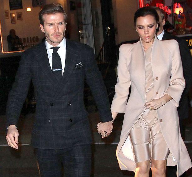 Oikeusjutun hylkääminen varjosti Beckhamien ystävänpäivää.