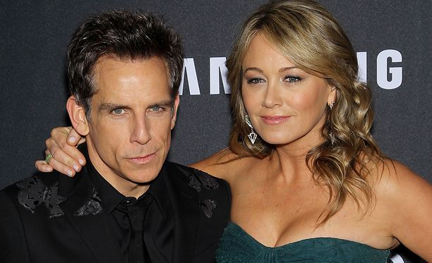Ben Stiller ja Christine Taylor vuonna 2016.