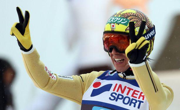 Noriaki Kasai starttaa jo kahdeksansiin olympiakisoihinsa.