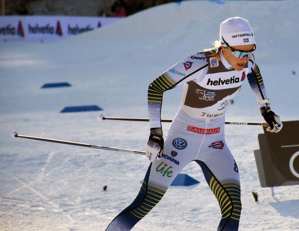 Ruotsin Stina Nilsson keskeyttää Tour Skin keskiviikon etapin 4/7 jälkeen.