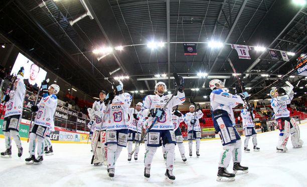 KeuPa on Mestis-kauden 2017-2018 mestari.
