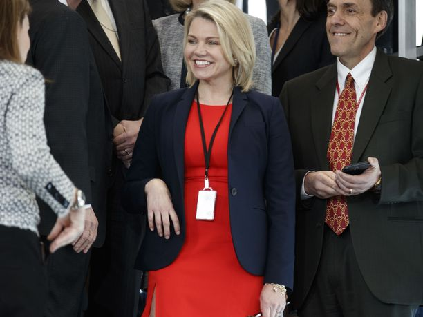 Heather Nauert on työskennellyt ulkoministeriön tiedotuksessa alle kaksi vuotta.
