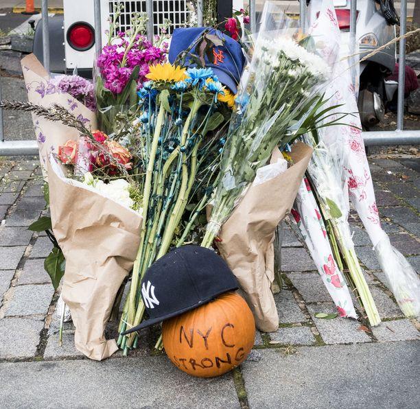 Iskussa Manhattanilla kuoli kahdeksan ihmistä.