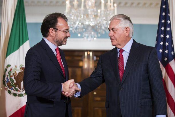 Meksikon ja Yhdysvaltain ulkoministeri tapasivat keskiviikkona Washingtonissa.