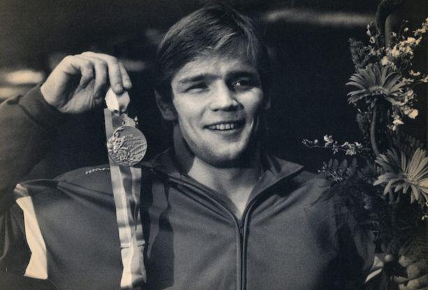 Jouko Salomäki voitti painin olympiakultaa 1984.