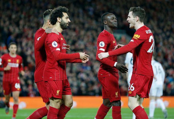 Liverpool on ollut tällä kaudella Valioliigssa ylivoimainen.
