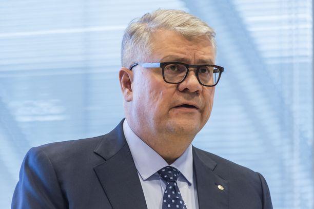 Terveet yritykset täytyy pitää pystyssä koronakriisin yli, painotti Jussi Pesonen A-studiossa. Arkistokuva.
