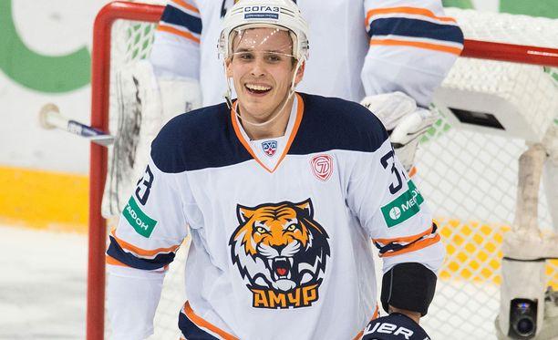 Tommi Taimi pelasi viime kauden Amurin paidassa.