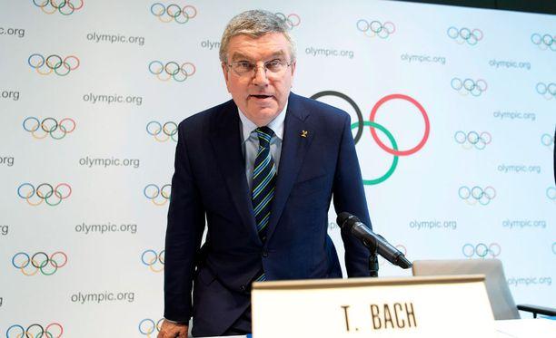 KOK:n saksalaispomo Thomas Bach järkyttyi Venäjän dopingtoiminnasta.