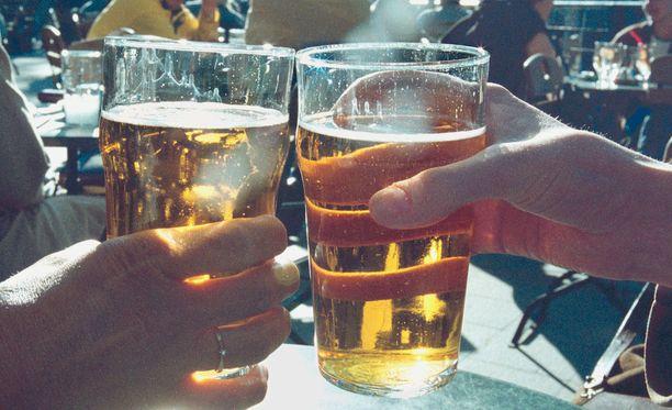 Olut on suosikkimme alkoholijuomissa.
