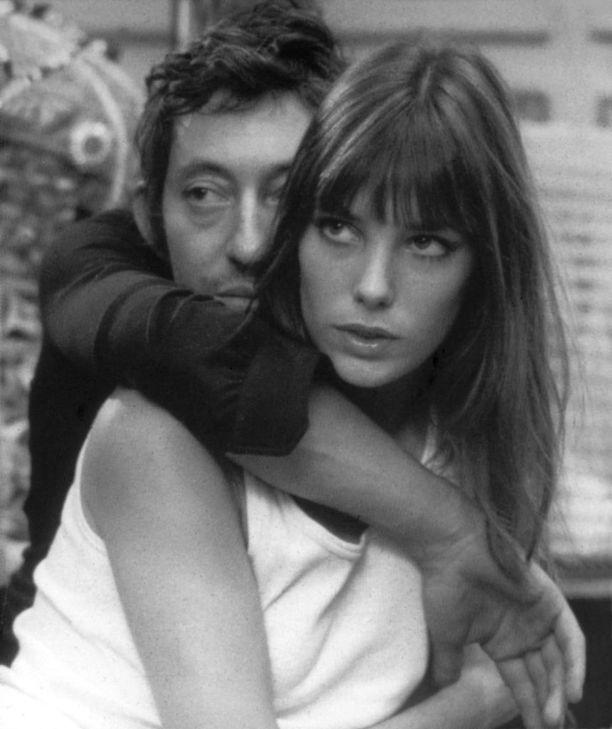 Jane Birkin ja Serge Gainsbourg vuonna 1970
