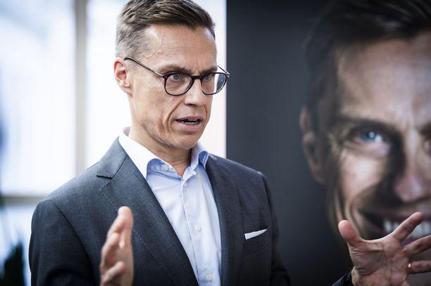 Alexander Stubb toimii tällä hetkellä Euroopan investointipankin varapääjohtajana.