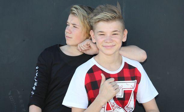 Marcus & Martinus ovat sekä laulaja- että tv-tähtiä.