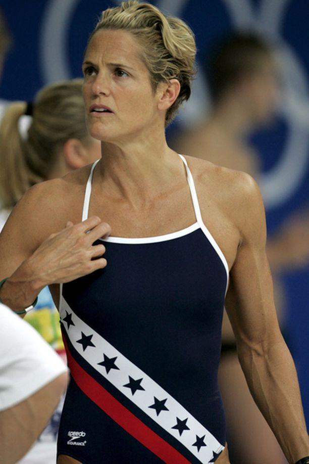 Dara Torres osallistuu viidennen kerran olympialaisiin.
