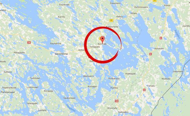 Poliisi on saanut kiinni Kerimäellä Etelä-Savossa ammuskelleen miehen ja tämän kanssa olleen miehen.