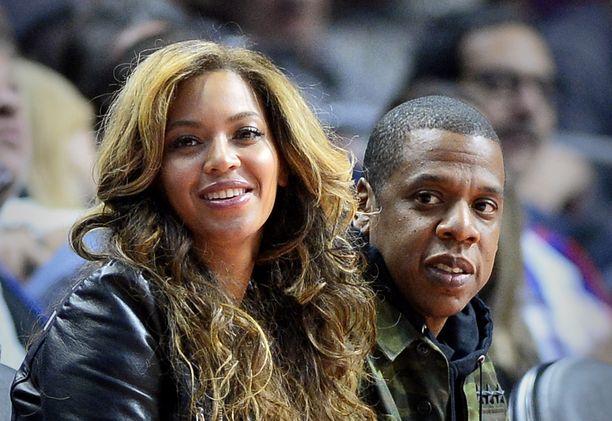 Laulajapari Beyoncen ja miehensä Jay Z:n välillä on runsaasti kemiaa.