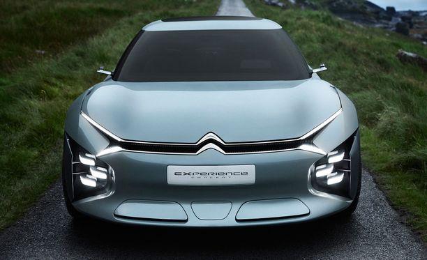 Uuden konseptimallin ajovalot on sijoitettu poikkeuksellisella tavalla.