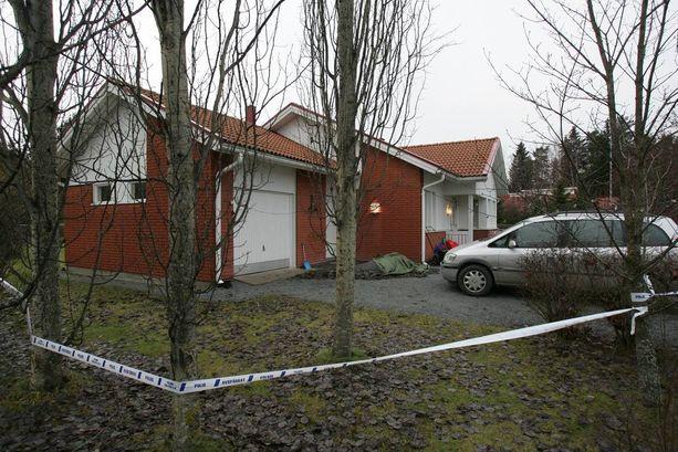 Jukka S. Lahti murhattiin talossa vuonna 2006.