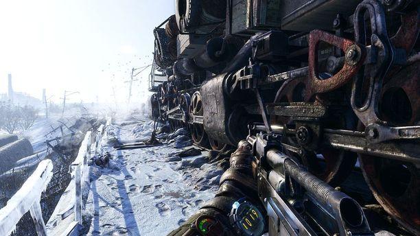 Artyom seikkailee lumisissa Venäjän maisemissa.