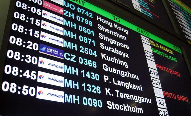 Kuala Lumpurin ja Singaporen välillä lennetään keskimäärin 84 lentoa päivässä.