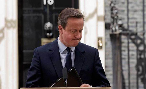 Britannian pääministeri David Cameron oh huolissaan mahdollisesta EU-erosta.