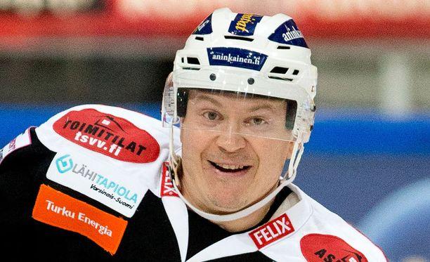 Petteri Nummelin palaa tänään TPS:n kokoonpanoon neljän viikon tauon jälkeen.