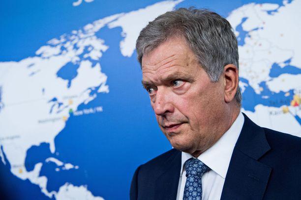 Presidentti Sauli Niinistö ei pidä automaationa, että Ruotsin ja Suomen pitäisi liittyä Natoon samaan aikaan.