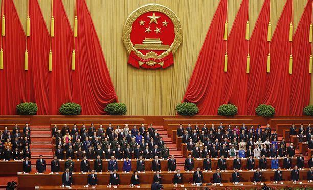 Kiinan kumileimasimena pidetty kansankogressi kokoontuu joka vuosi noin kahdeksi viikoksi siunaamaan kommunistisen puolueen tekemät päätökset.