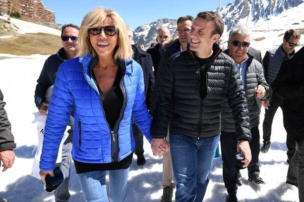 Brigitte Trogneux teki vaalityötä miehensä rinnalla ja valmensi häntä taustajoukoissa.