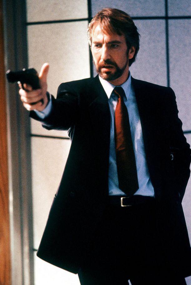 Die Hard -elokuvassa Bruce Willisin vastanäyttelijänä vuonna 1988.