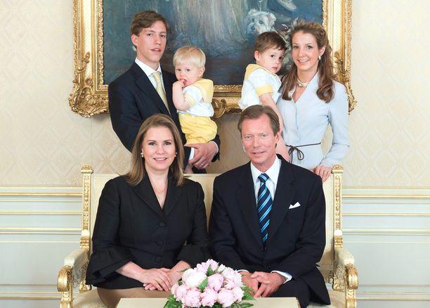 Luxemburgin hovi ilmoitti Louisin ja Tessyn erosta. Kyseinen kuva on otettu kahdeksan vuotta sitten.