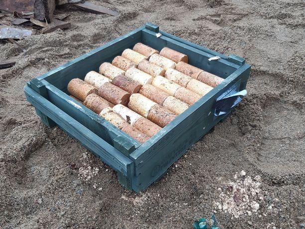 Liperissä sijaitseva yläkoulun työmaalta löytyi sodanaikainen räjähdekätkö.