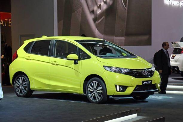 Hondan uusi Jazz on saanut särmää muotoihinsa.