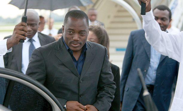 Kongon demokraattisen tasavallan presidentti Joseph Kabila